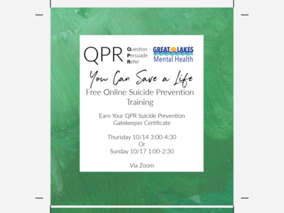 Free online suicide prevention training