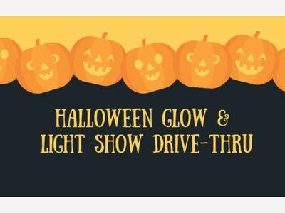 Halloween Glow & Light Show Drive-Thru