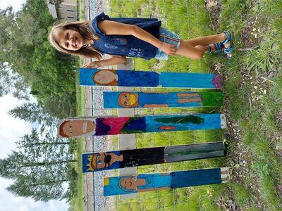 Community Art on the B2B Trail