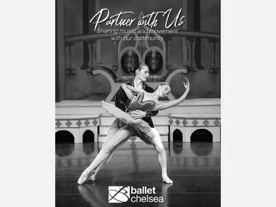 """Ballet Chelsea 2021 Digital Fundraising Campaign """"Partner With Us"""""""