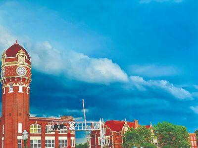 Photo Contest Winner - Week 2  A Storm Brewing Over The Clocktower