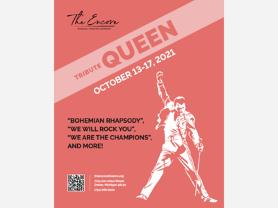 QUEEN Tribute Concert to Rock The Encore Musical Theatre!