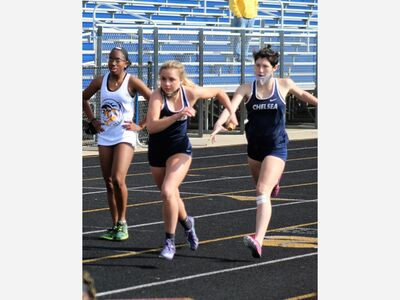 Chelsea Girls' Track and Field Second at MITCA D2 State Team Finals