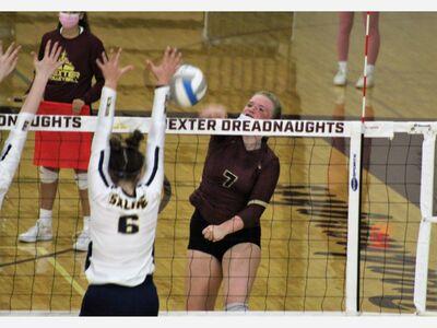 Dexter Volleyball Sweeps Pioneer on Senior Night