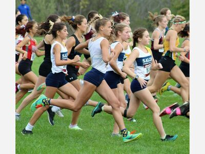 Saline Cross Country Teams Finish Second in Red