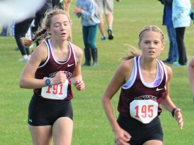 Dexter Girls Ninth and Boys 14th at Portage Invite