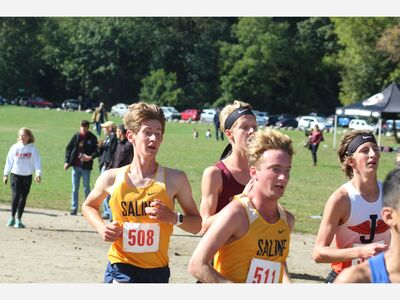 Saline Cross Country Teams Peaking at Right Time
