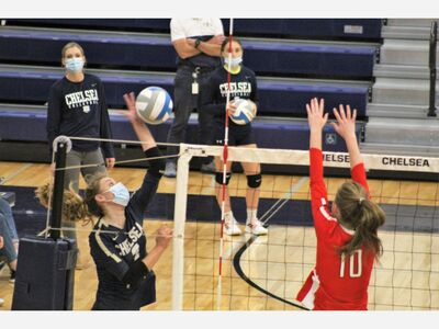 Chelsea Volleyball Finishes Undefeated in SEC White
