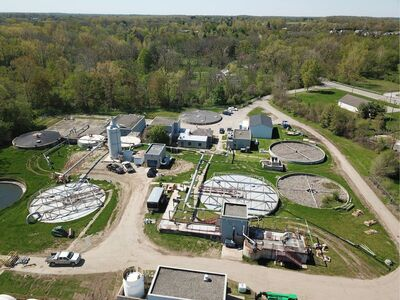 Saline Starts Work On Remodeling And Expanding Wastewater Treatment Plant
