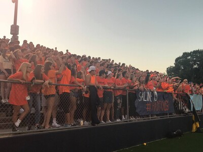 Students Come Together in Orange in Honor of Chad Carr